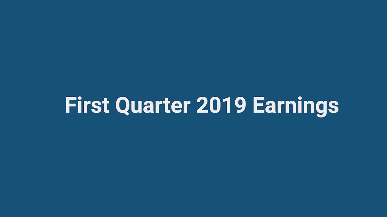 Global Payments' Chief Executive Officer, Jeff Sloan and Senior Executive Vice President and Chief Financial Officer, Cameron Bready discuss first quarter 2019 earnings.