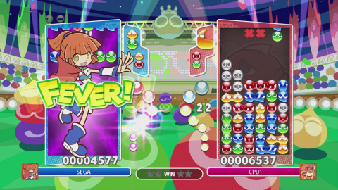 The Puyo Puyo Champions game is available May 7. (Graphic: Business Wire)