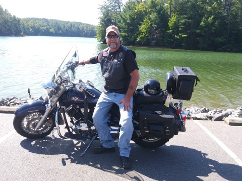 Carl Murphy had long term disability insurance through his employer. The former Marine Corps security guard and 17-year veteran of the trucking industry suffered from chronic back pain caused by years of wear and tear. (Photo: Business Wire)
