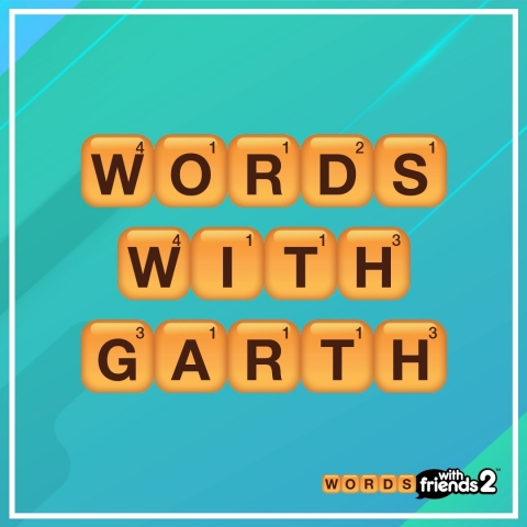 Garth Brooks at Zynga for Words With Friends (Graphic: Business Wire)