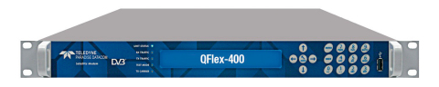 The new QFlex '400' Series of satcom modems from Teledyne Paradise Datacom. (Photo: Business Wire)
