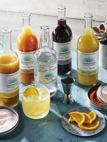 Casamigos Launches Cocktail Mix Collaboration with Williams Sonoma (Photo: Business Wire)