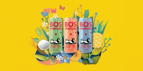 BOS Sparkling Unsweetened Iced Teas (Photo: Business Wire)