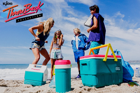 Igloo gives nod to the 90's with re-release of the 1992 Picnic Cooler (Photo: Business Wire)