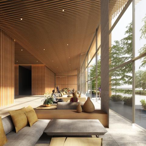 Lobby of Hyatt Centric Kota Kinabalu (Photo: Business Wire)