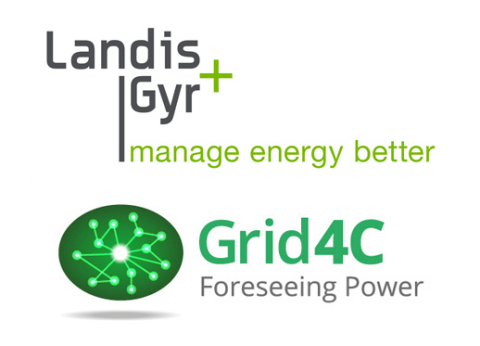 Grid4C Partners with Landis+Gyr to Embed AI-Powered Analytics into Smart Meters at the Grid Edge (Graphic: Business Wire)