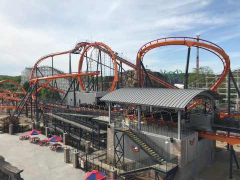 FIREBIRD new coaster experience takes flight May 17 (Photo: Business Wire)