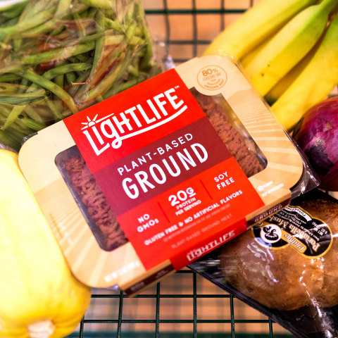The new plant-based burger and ground will be available at top retailers in the U.S. and Canada, with more innovation hitting shelves this summer. (Photo: Business Wire)