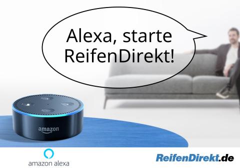 ReifenDirekt-Skill ist ab sofort kostenlos für Amazons Sprachdienst Alexa verfügbar (Photo: Business Wire)