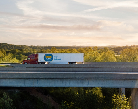 J.B. Hunt 360box will soon be available for businesses to reserve as a part of the company's new trailer pool and drop-and-hook service. (Photo: Business Wire)