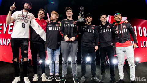 CWL London Cup Winners 100 Thieves (Photo: Business Wire)