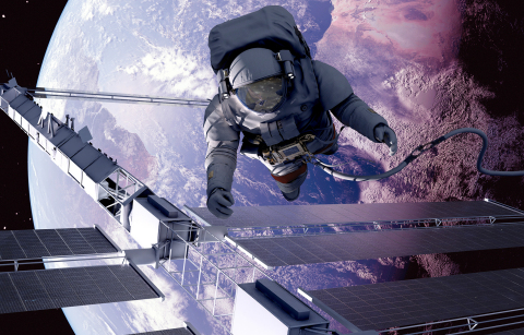 """Thales Alenia Space"". Copyright: Thales"