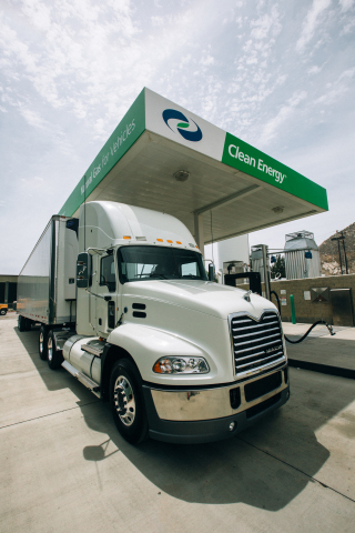 Fleets are rolling out more than 250 new natural gas heavy-duty trucks through Clean Energy's Zero Now program. (Photo: Business Wire)