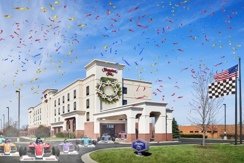 The Hampton Inn Indianapolis Northwest - Park 100. (Photo: Business Wire)