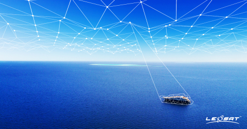 LeoSat to take Maritime Communications Networks to New Levels (Photo: Business Wire)