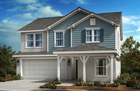 New KB homes now available in Riverside. (Photo: Business Wire)