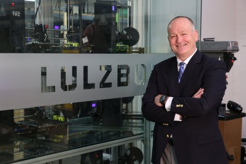 Grant Flaharty, Aleph Objects CEO, announces the launch of its LulzBot line of 3D printers into the European market today with new headquarters in Rotterdam to address the specific needs of European customers and resellers. (Photo: Business Wire)