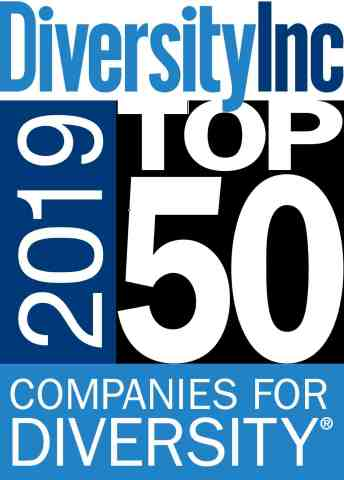 Aramark, a global leader in food, facilities management and uniforms, has once again been named a DiversityInc Top 50 Company for Diversity. (Graphic: Business Wire)