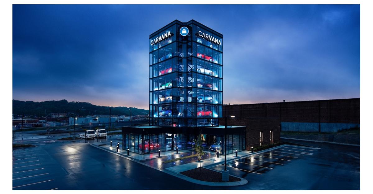 Carvana Unveils Kansas City Car Vending Machine | Business Wire