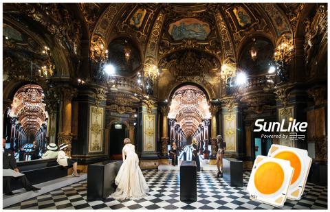 Das Grevin Museum Paris mit LEDs der Serie SunLike (Grafik: Business Wire)