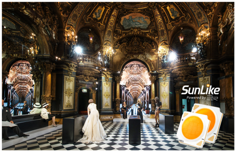 Il Museo Grévin di Parigi con i LED della serie SunLike (Grafico: Business Wire)
