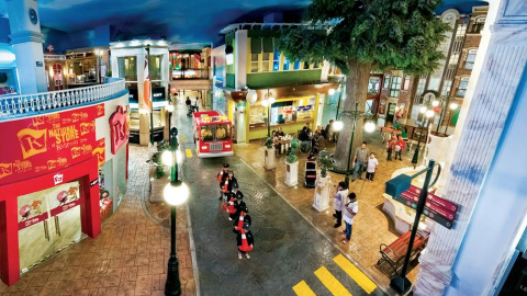 Inside KidZania, a realistic city built for kids. (Photo: Business Wire)