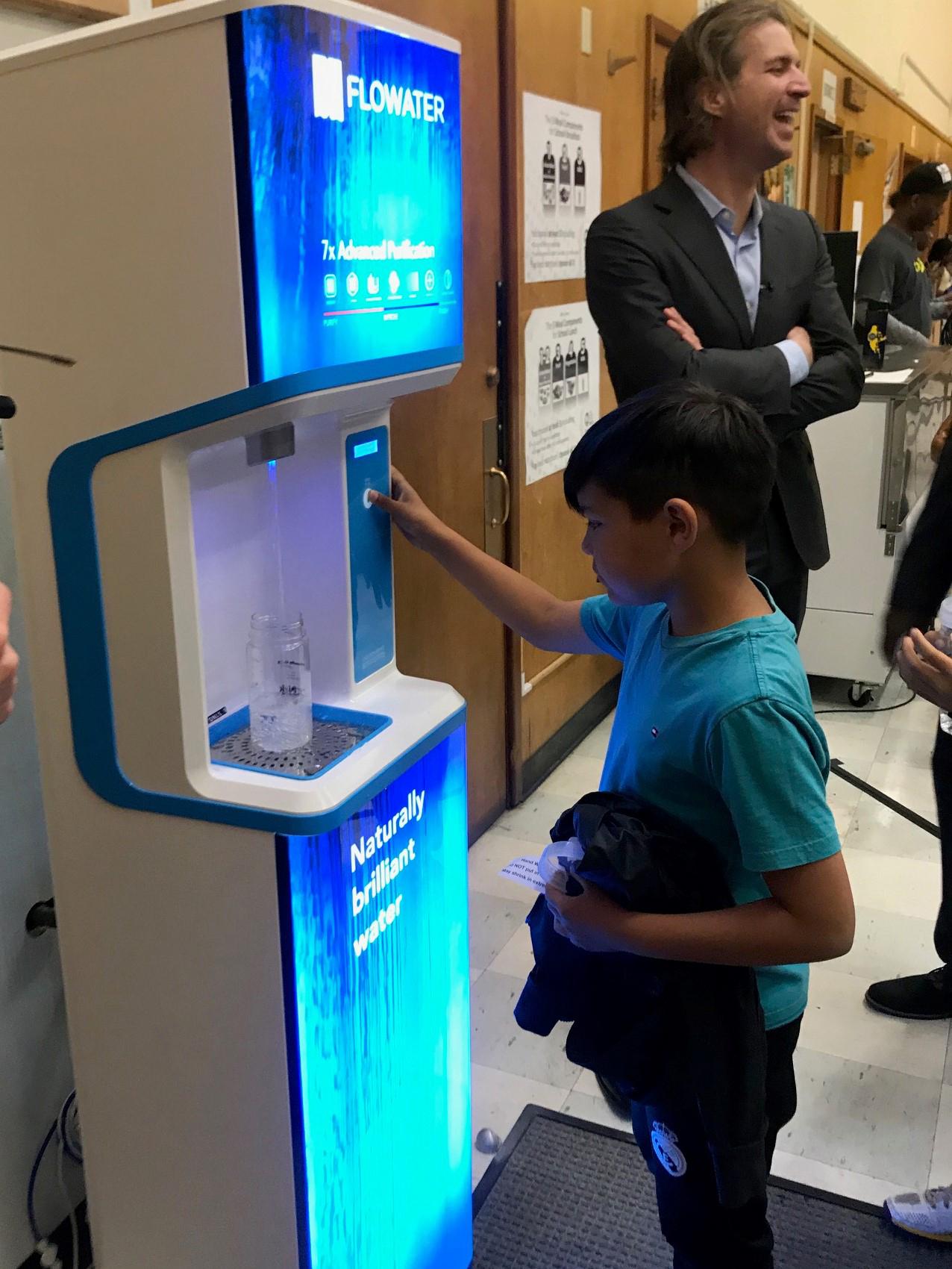 Oakland Schools Deploy New-Tech FloWater Refill Stations