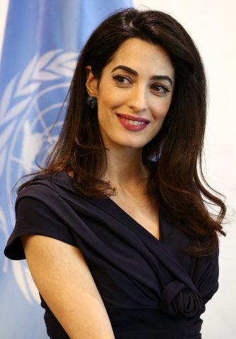 Human rights lawyer, professor, and international law expert Amal Clooney to deliver keynote at SAP Ariba Live in Barcelona, sharing her perspective on how businesses can promote human rights. (Photo: Business Wire)