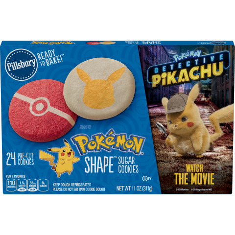 """Pillsbury's special """"POKÉMON Detective Pikachu"""" branded packaging. (Photo: Business Wire)"""