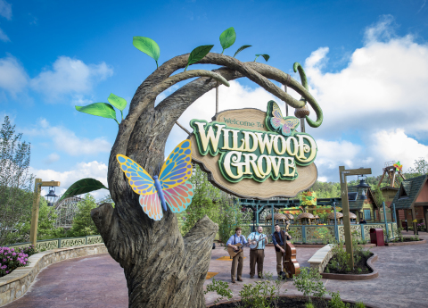 Visitors to Wildwood Grove enjoy 11 thrilling new experiences at the largest expansion in the history of Dollywood theme park in Pigeon Forge, Tennessee. The $37 million project encourages families to explore, play and imagine together. (Photo: Business Wire)
