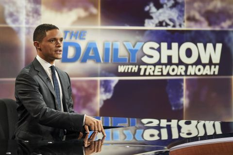 Driven by The Daily Show with Trevor Noah, Comedy Central delivered its eighth consecutive quarter of share growth - up 12% YOY. (Photo: Business Wire)