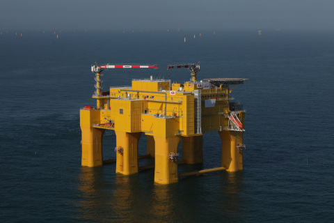 DolWin2 in North Sea (Photo: Business Wire)