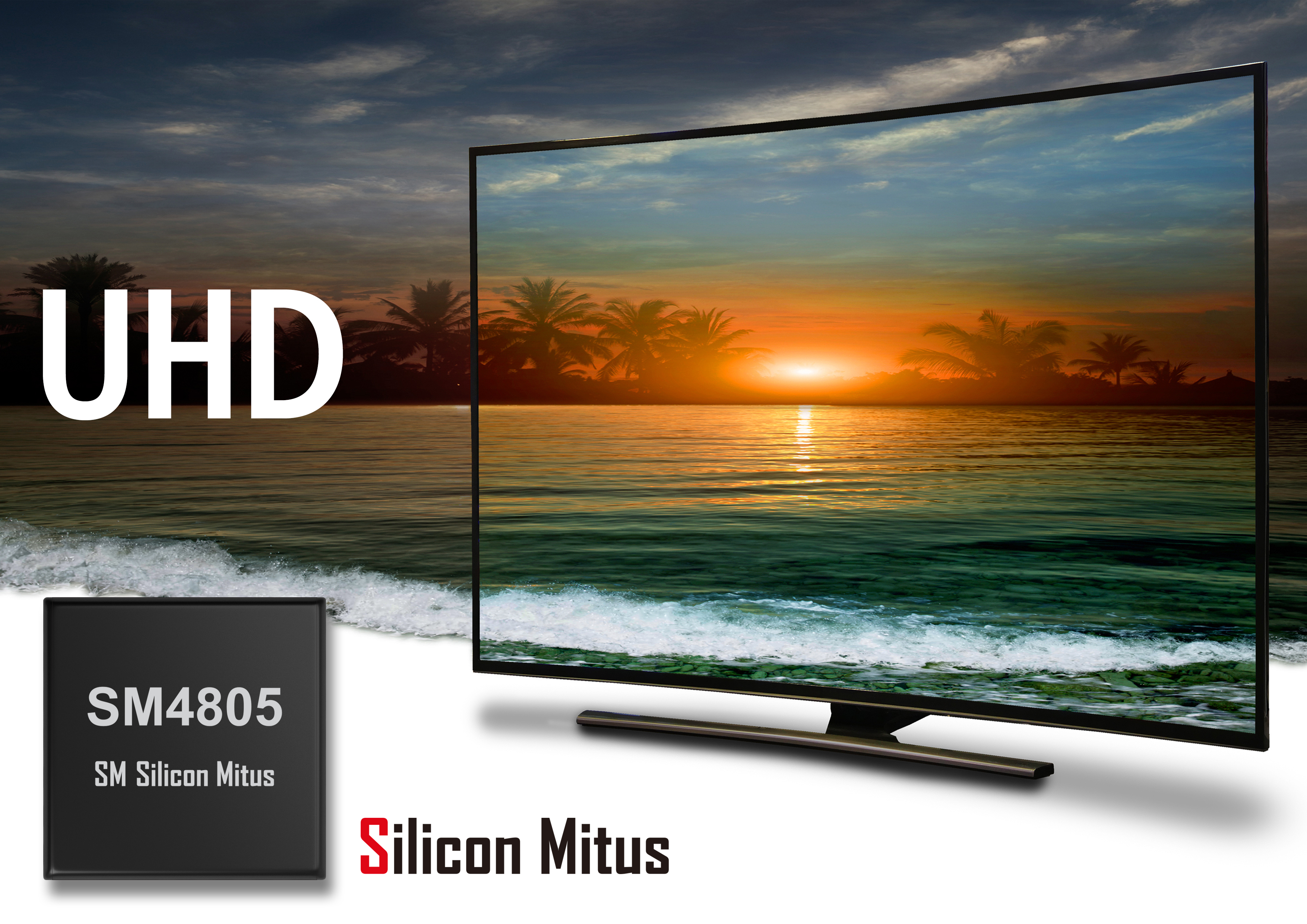 Silicon Mitus: Industry's First General-Purpose UHD TV LCD