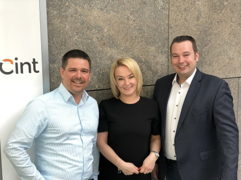 Cint's Munich office welcomes Marc Sörgel and Patrycja Reinhart with Oliver Tjarks leading the team. (Photo: Business Wire)