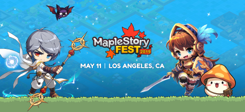 MapleStory Fest 2019 Banner (Graphic: Business Wire)