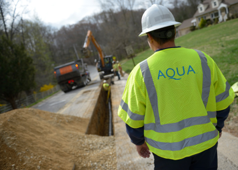 Aqua plans to invest more than $555 million in 2019 to improve its water and wastewater systems. (Photo: Business Wire)