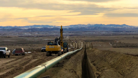 Meritage Midstream subsidiary Thunder Creek Gas Services, LLC continues to add to the company's gas gathering system.(Photo: Business Wire)