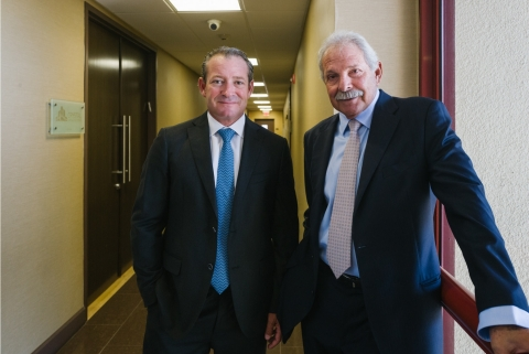 Steven Brod, CEO and George Brod, Investment Committee Chairman (Photo: Business Wire)