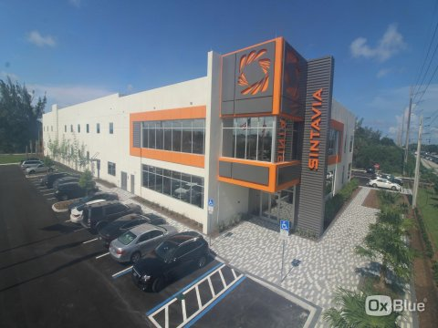 Sintavia's 55,000 square foot advanced manufacturing facility, located in Hollywood, Florida, specializing in metal additive manufacturing. (Photo: Business Wire)
