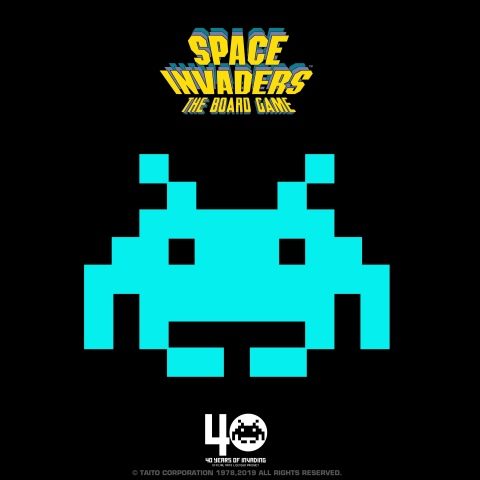 SPACE INVADERS - THE BOARD GAME (Graphic: Business Wire)