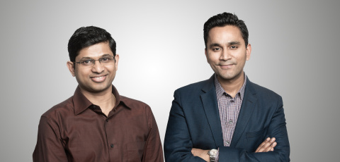 Unravel Data Founders Shivnath Babu, CTO, and Kunal Agarwal, CEO (Photo: Business Wire)