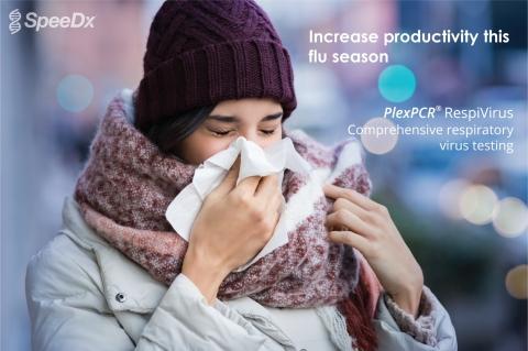 PlexPCR(R) RespiVirus检测采用市场领先技术检测11种病毒性呼吸系统疾病病原体,使实验室能够在8小时工作时间处理比标准内部检测方法更多的样本。 (照片:美国商业资讯)
