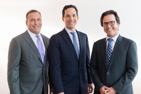 Partners Donald Hayden, Etan Mark & Josh Migdal. (Photo: Mark Migdal & Hayden)