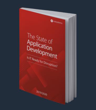 OutSystems sixth annual research report - 'The State of Application Development, 2019: Is IT Ready for Disruption?' (Graphic: Business Wire)