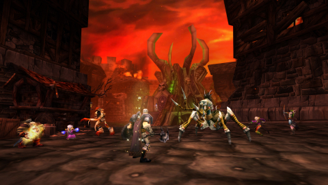 World of Warcraft Classic takes players back to the beginnings of Blizzard Entertainment's groundbreaking massively multiplayer online role-playing game. (Photo: Business Wire)