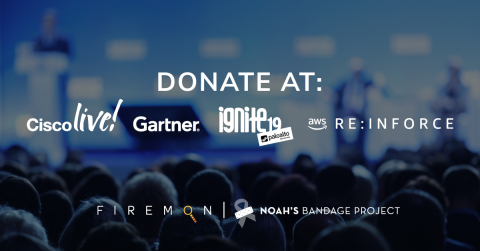 Join FireMon in its trade show collection drive to benefit Noah's Bandage Project. (Photo: Business Wire)