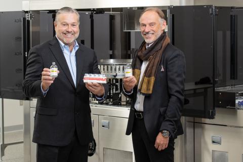 Martin VanTrieste of Civica and Carl-Aake Carlsson of Xellia (Photo: Business Wire)