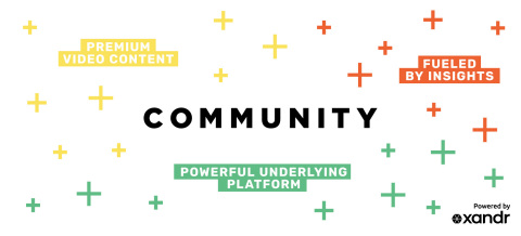 Xandr Creates Community (Photo: Business Wire)