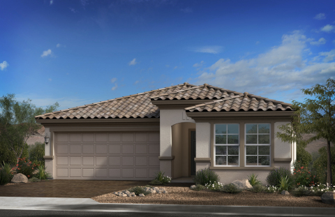 New KB homes now available in Goodyear, Arizona. (Photo: Business Wire)