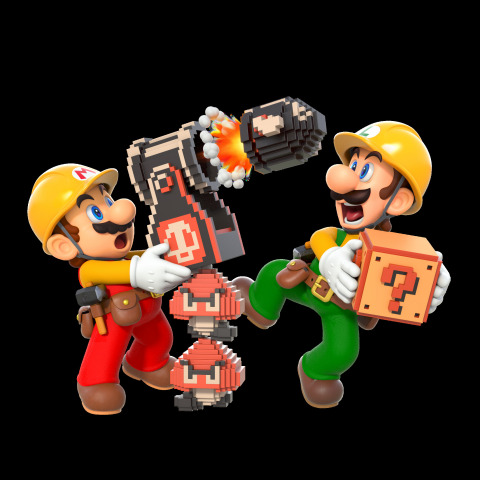 During the Super Mario Maker 2 Direct video presentation, Nintendo shared new details about the Super Mario Maker 2 game, launching exclusively for the Nintendo Switch system on June 28. (Graphic: Business Wire)